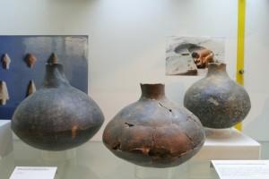 Manciano, reperti del Museo della Preistoria e Protostoria